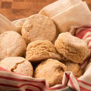 Basket of Oil-free Vegan Biscuits