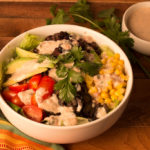 Mexican Quinoa Bowl with Salsa Ranch Dressing