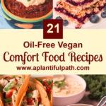 Pinterest image for 21 Vegan Comfort Food Recipes