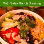 Pinterest image for Mexican Quinoa Bowl