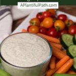 Pinterest image for Vegan Ranch Dressing