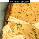Pinterest Image for Scalloped Potatoes