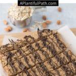 Pinterest image for granola bars