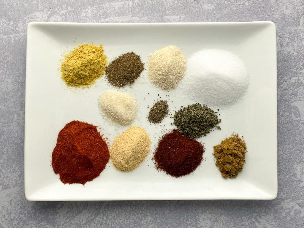 Ingredients for fry seasoning