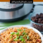Pinterest image for Mexican Rice