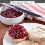 Pinterest image for vegan biscuits