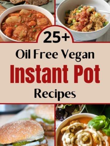Pinterest image for Vegan Instant Pot Recipes
